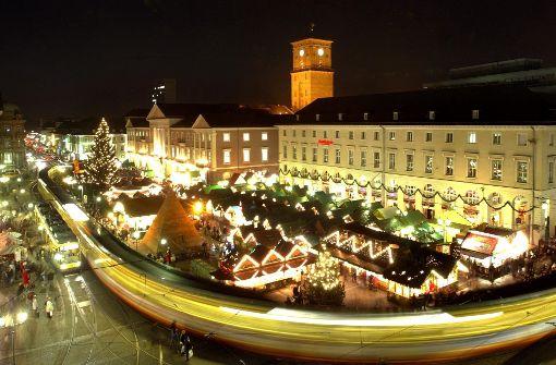 Keine Änderungen auf Christkindlesmarkt in Karlsruhe