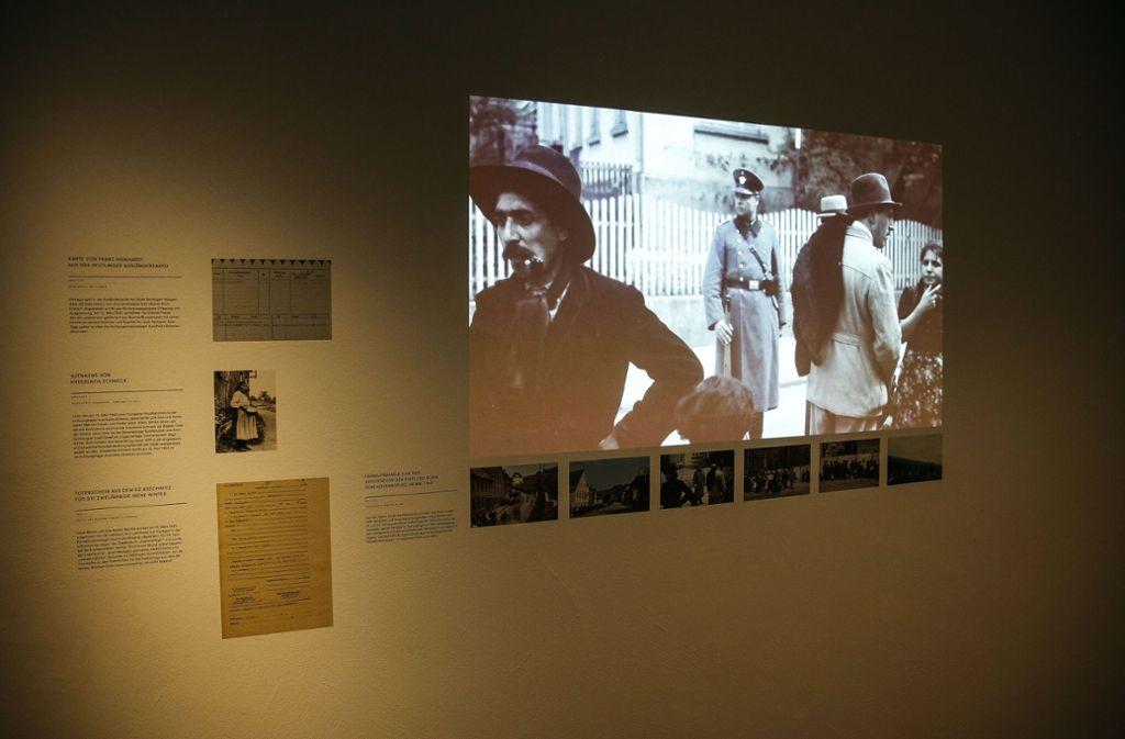 Bilder und Dokumente der ehemaligen Stuttgarter Gestapo-Zentrale Foto: Lichtgut/Leif Piechowski