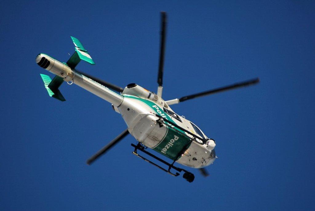Unter anderem mit einem Hubschrauber hat die Polizei am Sonntag in Stuttgart-Vaihingen nach einem vermissten Senior gesucht (Symbolbild). Foto: Leserfotograf gerografie (Symbolbild)