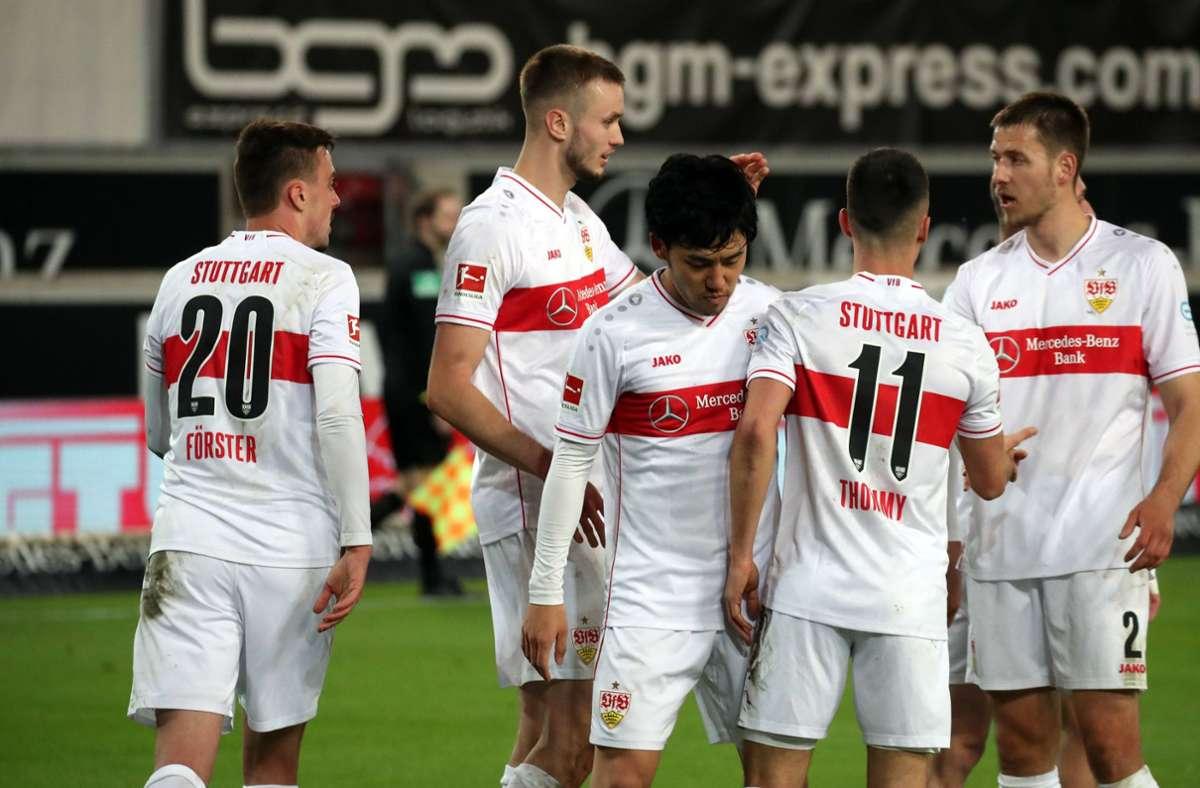 Die Marktwerte der Spieler des VfB Stuttgart sehen nach Abschluss der Bundesliga-Saison wie folgt aus. Foto: imago images