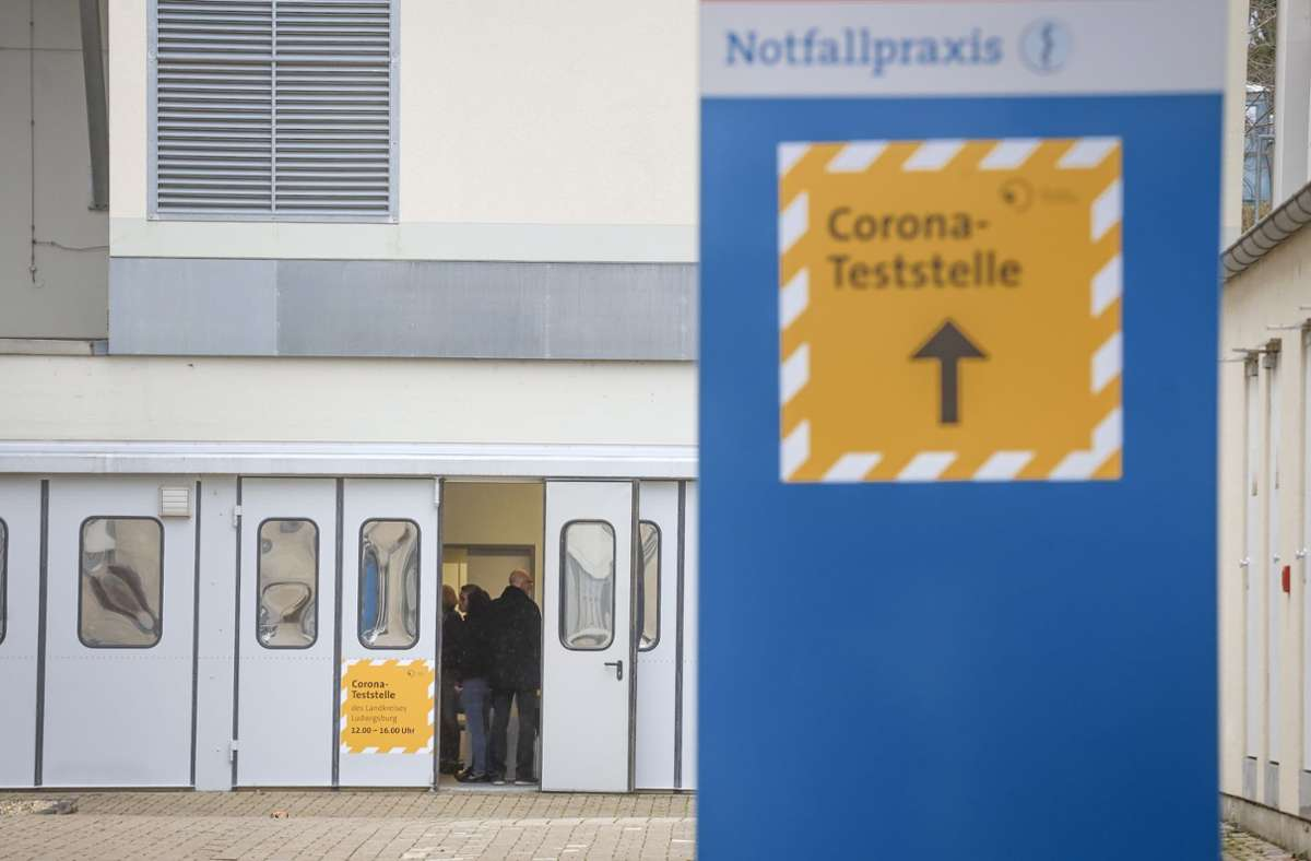 In Ludwigsburg gibt es ab diesem Wochenende ein halbes Dutzend Teststellen. Foto: factum/Simon Granville