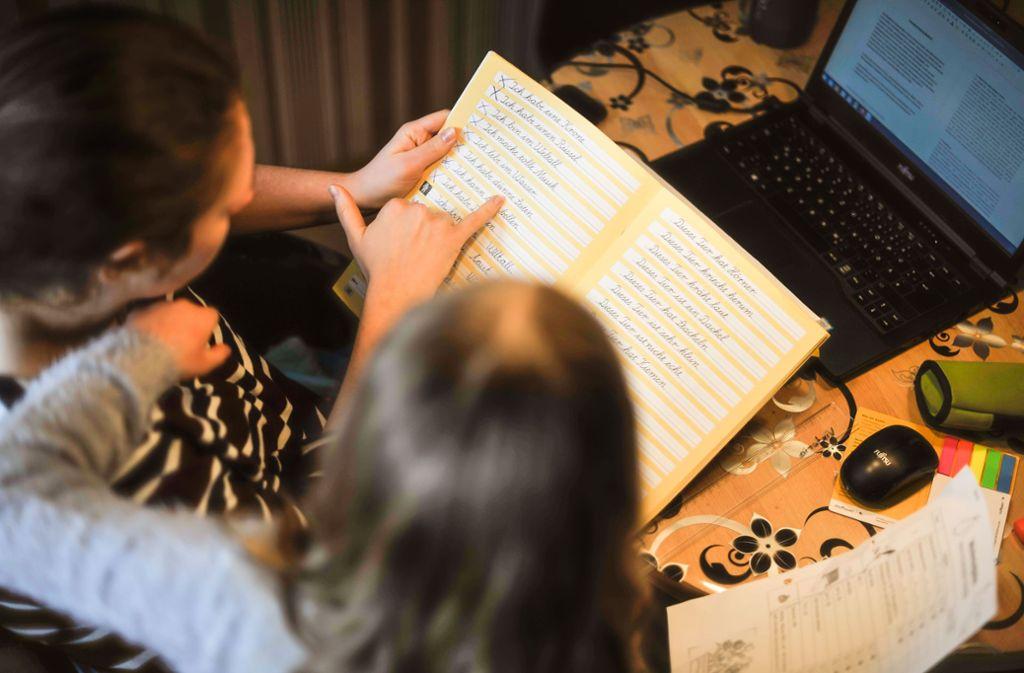 Homeoffice verlangt Eltern und Kindern viel ab. Foto: Lichtgut/Max Kovalenko
