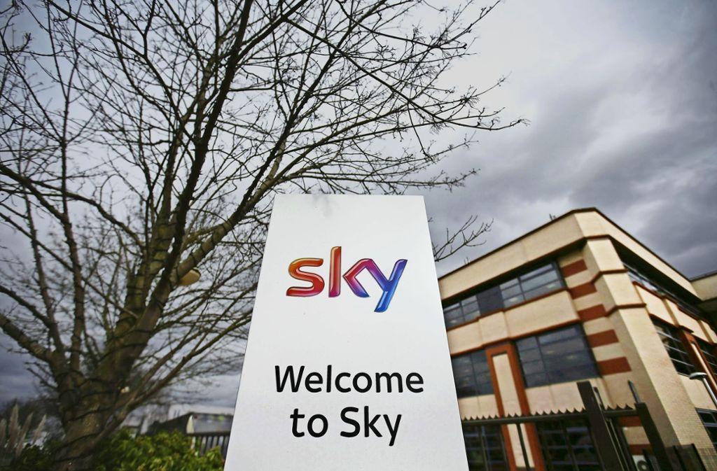 Sky ist erfolgreich – und andere Medienkonzerne machen Kaufangebote. Foto: AFP