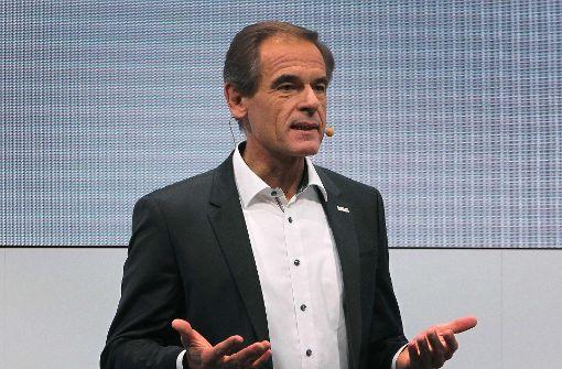Bosch-Chef Volkmar Denner fordert klare Verbrauchsangaben