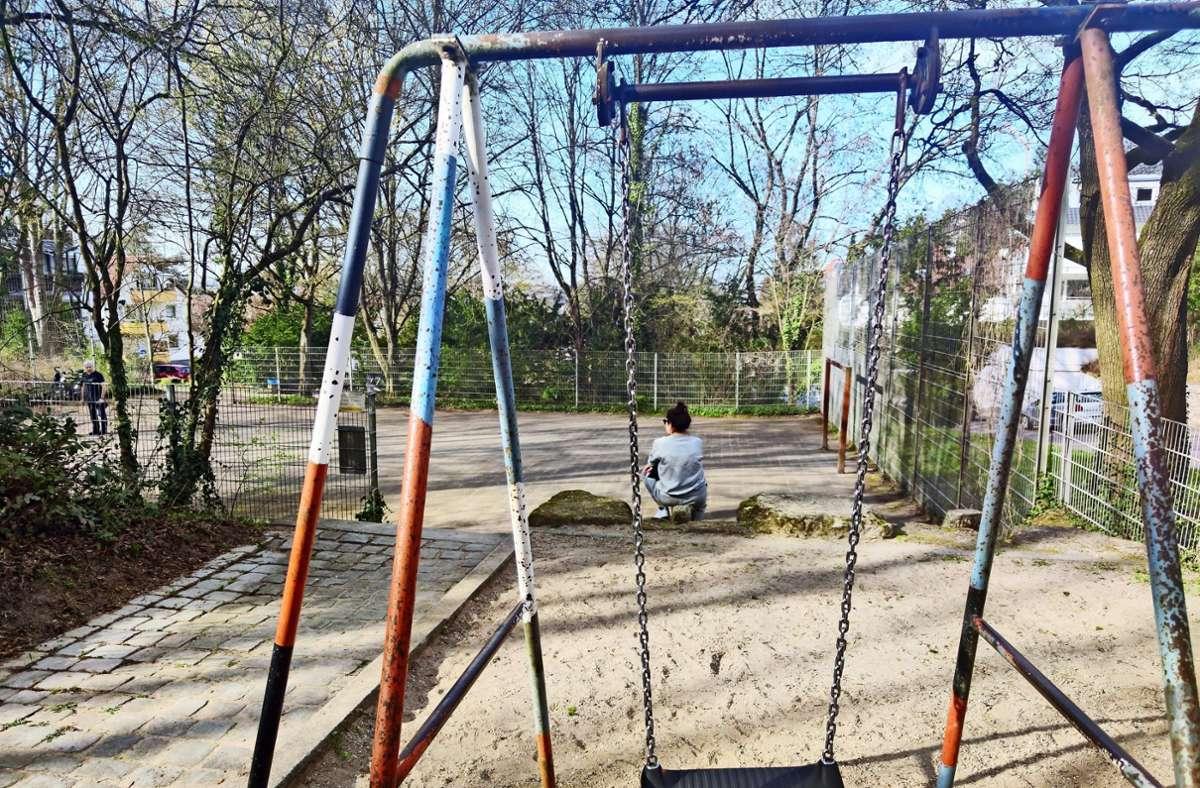 380000 Euro investiert die Stadt in die Sanierung des Spielplatzes. Foto: K. Wesely/K. Wesely