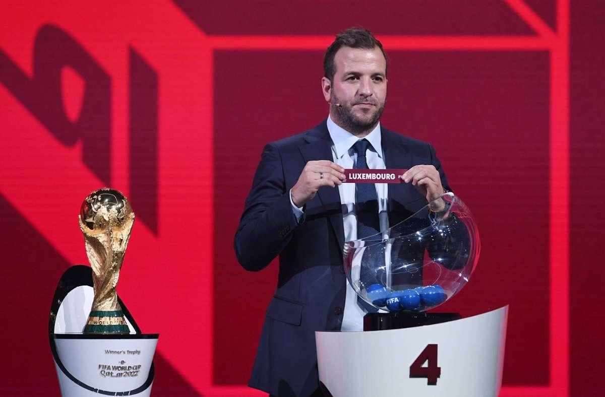 Luxemburg spielt im Rahmen der WM-Qualifikation in Debrecen gegen Katar. Foto: imago images/ULMER