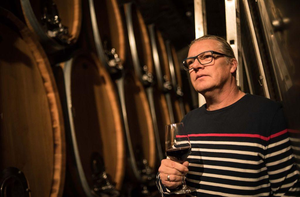 Weinfactum-Macher Thorsten Klimek wird künftig häufig in Hessigheim sein. Foto: Lichtgut/Max Kovalenko