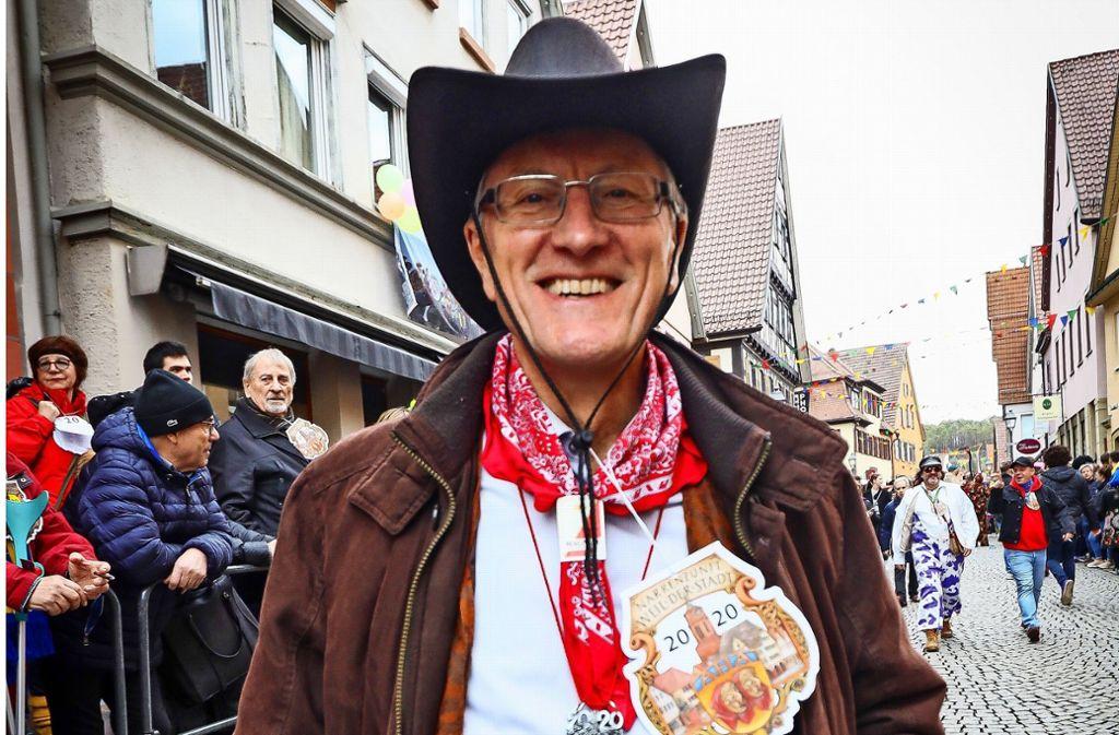 """""""Weil der Stadt blickt zurück ohne Frage / auf viele tolle Tage"""", findet Landrat Roland Bernhard. Foto: factum/Simon Granville"""