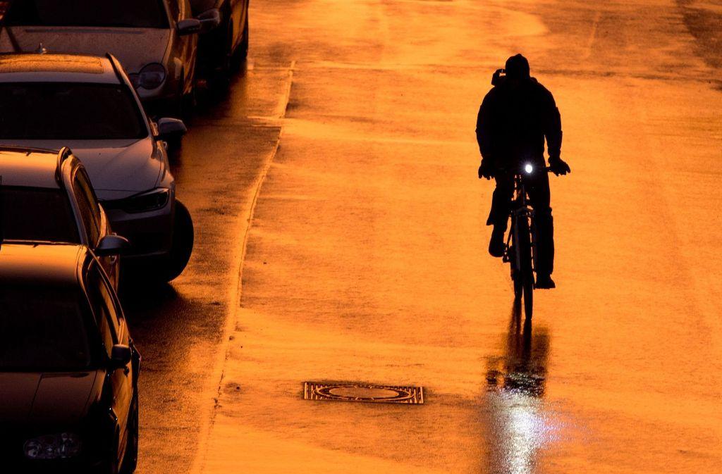 Ein betrunkenen Radfahrer hat Widerstand gegen Polizeibeamte geleistet. Foto: dpa