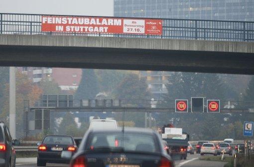 Plakate für Parolen missbraucht