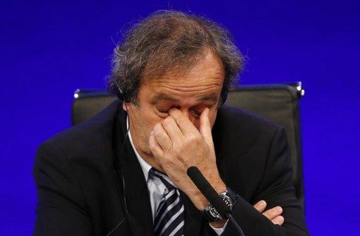 Platini reicht Einspruch ein