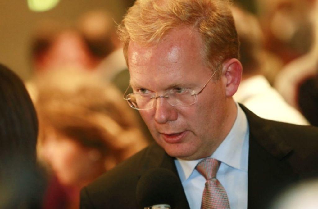 Trotz großen Einsatzes kam Sebastian Turner als CDU-Kandidat bei der Stuttgarter OB-Wahl auf keine guten Sympathiewerte. Foto: Steinert