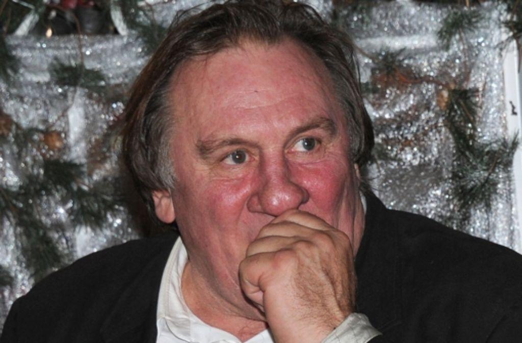 Genug war ihm noch nie genug: Gérard Depardieu Foto: dpa