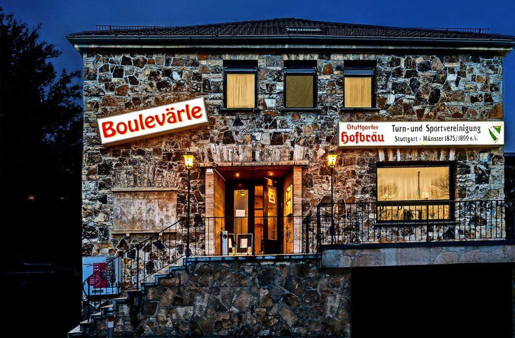 """Das Boulevärle in der Neckartalstrasse 261 wurde """"geadelt"""". Foto: Boulevärle"""