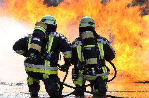 Medaillen für Mannheimer Feuerwehrmänner