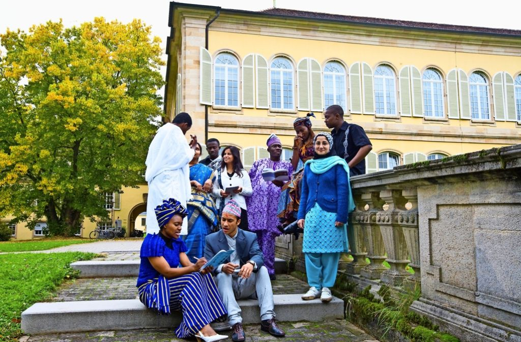 Die Universität Hohenheim zieht Studierende aus aller Welt an Foto: Universität Hohenheim/Sven Cichowicz