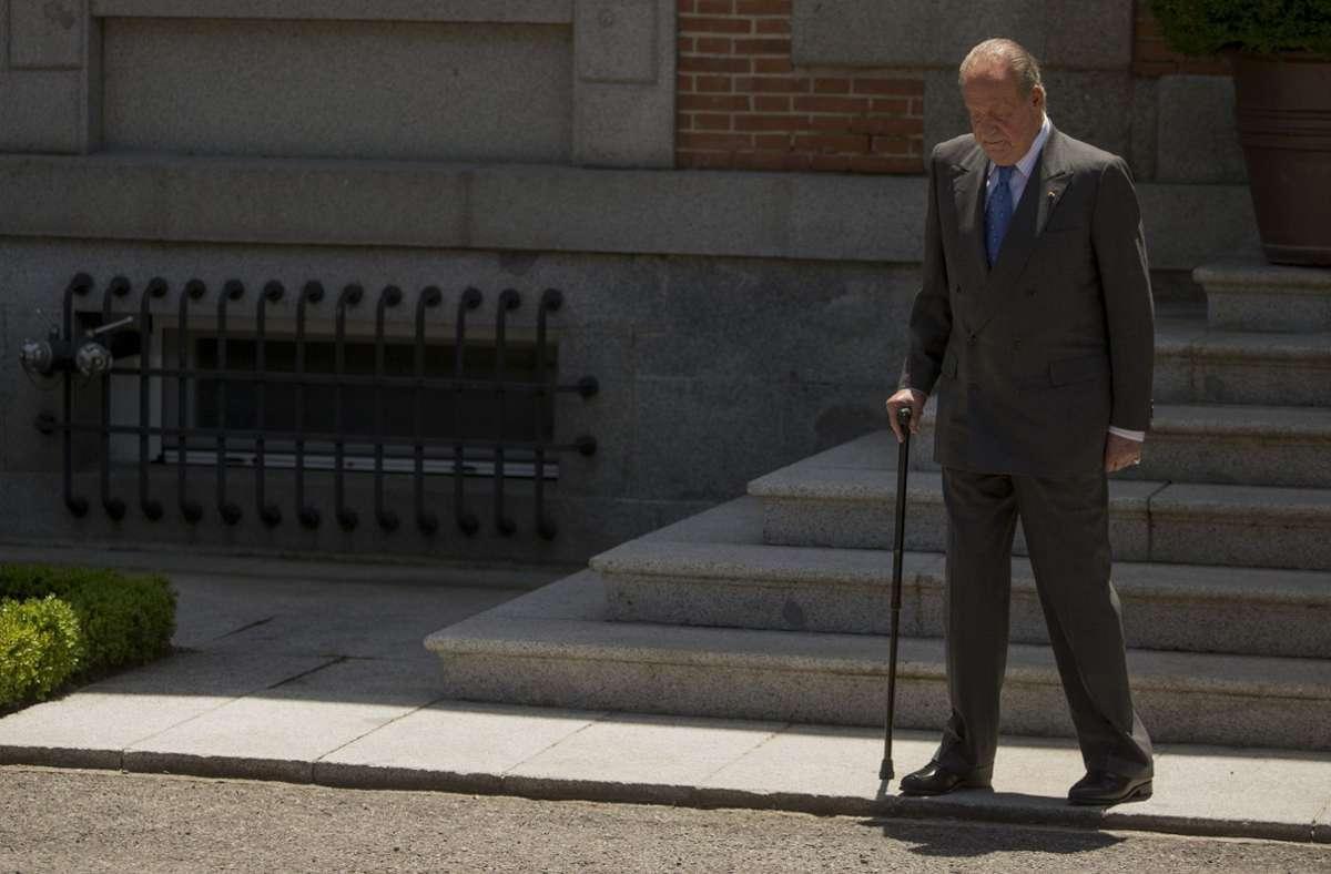Juan Carlos hat Spanien verlassen (Archivbild). Foto: AP/Andres Kudacki