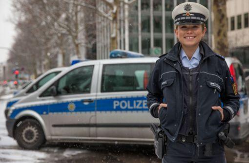 Polizistin bereitet sich auf Wahl zur Miss Germany vor