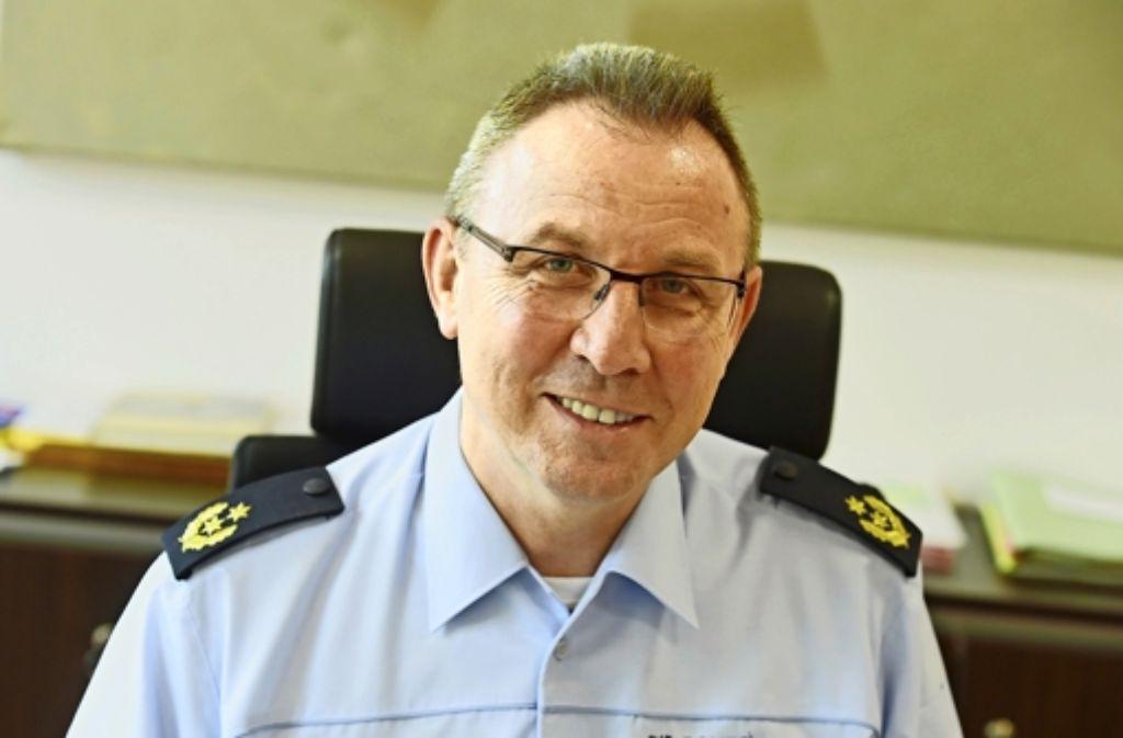 Der  Karlsruher Polizeichef  Günther Freisleben steht in der Kritik. Foto: dpa