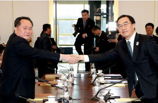 Nordkorea will Delegation zu Winterspielen nach Südkorea schicken