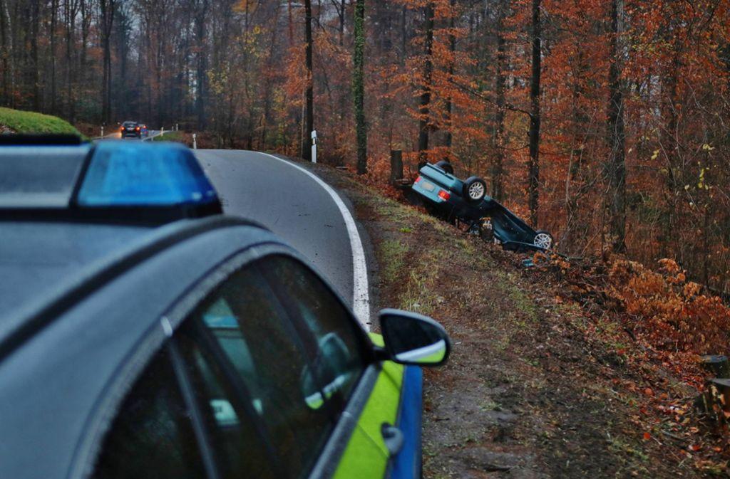 Das Auto wurde abgeschleppt. Foto: 7aktuell.de/ Lermer