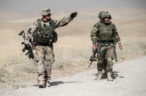 Anti-IS-Allianz soll im Irak weniger sichtbar sein
