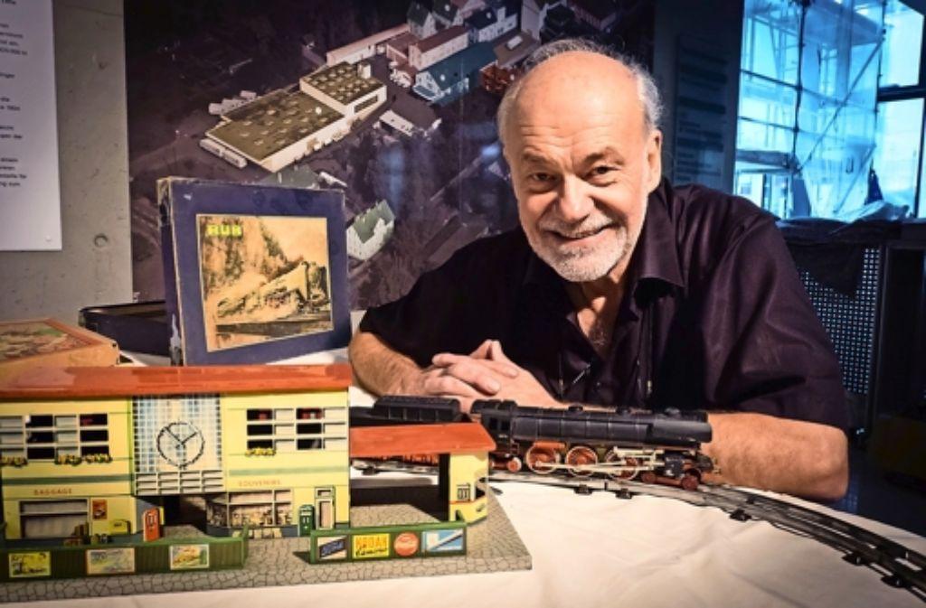 Auch im Ruhestand bleibt Hagen von Ortloff seinem Hobby treu. Foto: Lichtgut/Achim Zweygarth