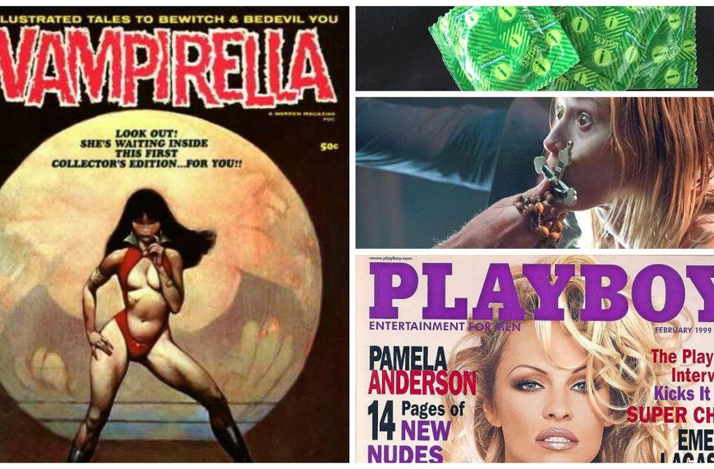 Adult-Comic, Kondom-Anleitungen, Horrorfilme und Sex-Hefte: Dinge, die man sich besser unter der  Bettdecke ansehen sollte. Foto: Burda-Verlag/Pinterest/dpa