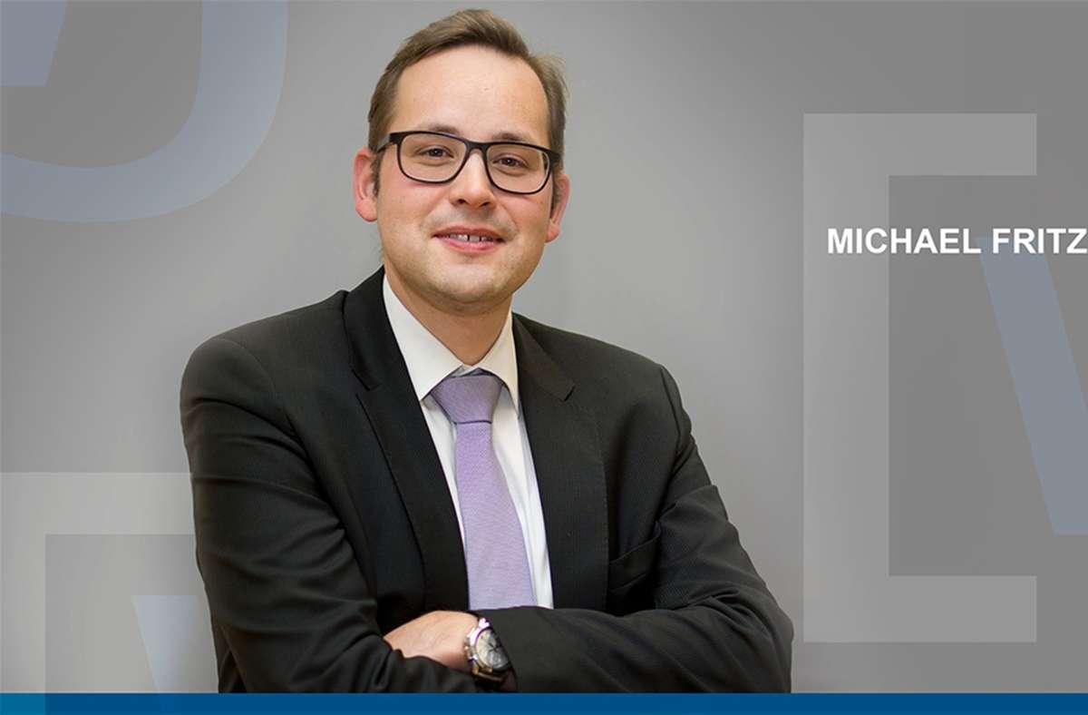 Michael Fritz führt bald die Kreissparkasse Böblingen. Foto: Wirtschaftsjunioren BB