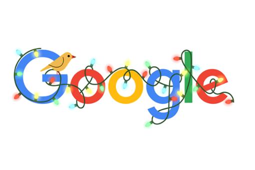Google Doodle feiert Beginn der Weihnachtszeit