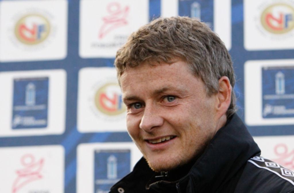 Ole Gunnar Solskjaer ist der prominenteste Mann bei Molde FK. Foto: StZ