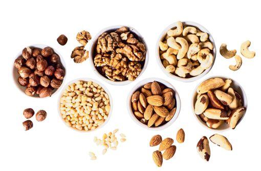 Nüsse – die  gesunde Knabberei