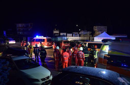 Auto rast  in deutsche Reisegruppe: Sechs Menschen tot