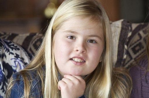 Amalia wird erste Prinzessin von Oranien