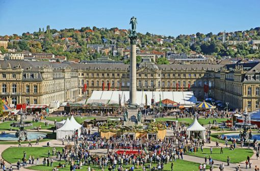 Gibt es 2019 wieder ein Historisches Volksfest auf dem Schlossplatz?