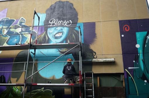 Künstler wünschen sich mehr Farbe in der Stadt
