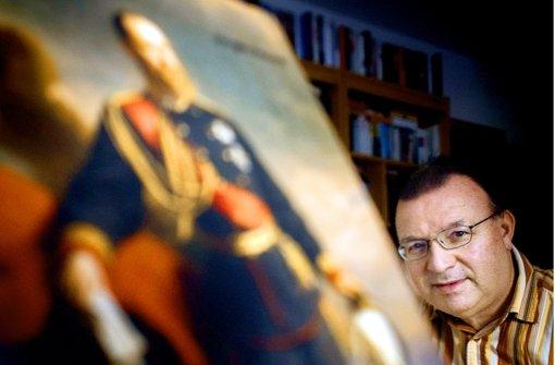 Jürgen Honeck hat ein Buch über König Karl I. geschrieben. Foto: Gottfried Stoppel