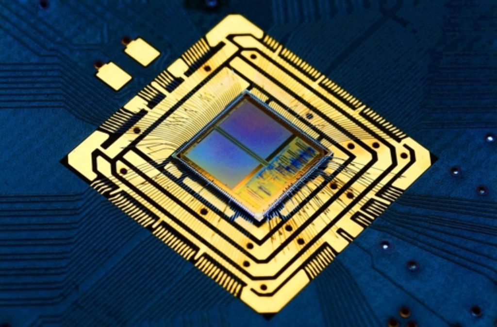 Neuromorphe Chips Foto: HBP