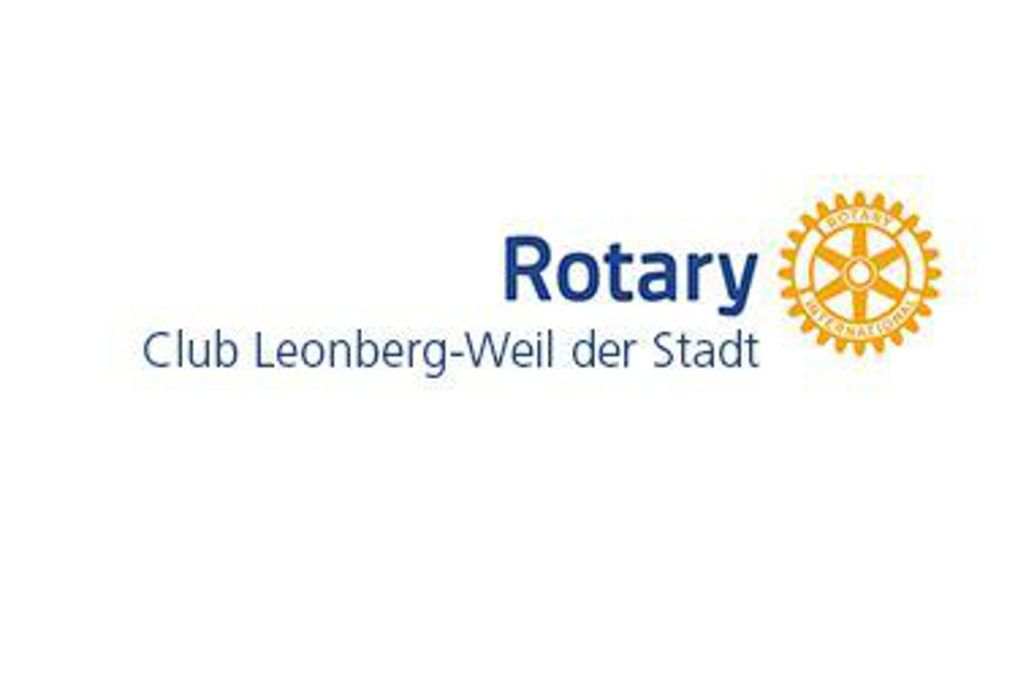 Der Rotary-Club Leonberg-Weil der Stadt spendet 10 000 Euro für die Hospize in Weil der Stadt und Leonberg. Foto: Rotary-Club Leonberg/Weil der Stadt
