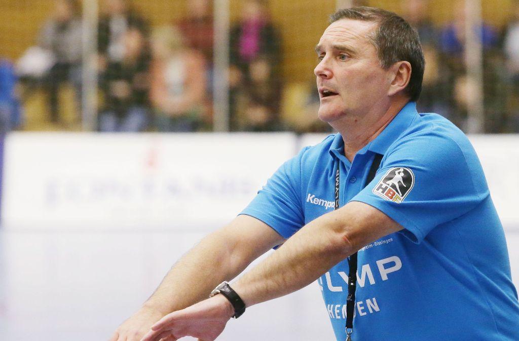 Dago Leukefeld glaubt an einen Sieg von Bietigheim. Foto: Baumann