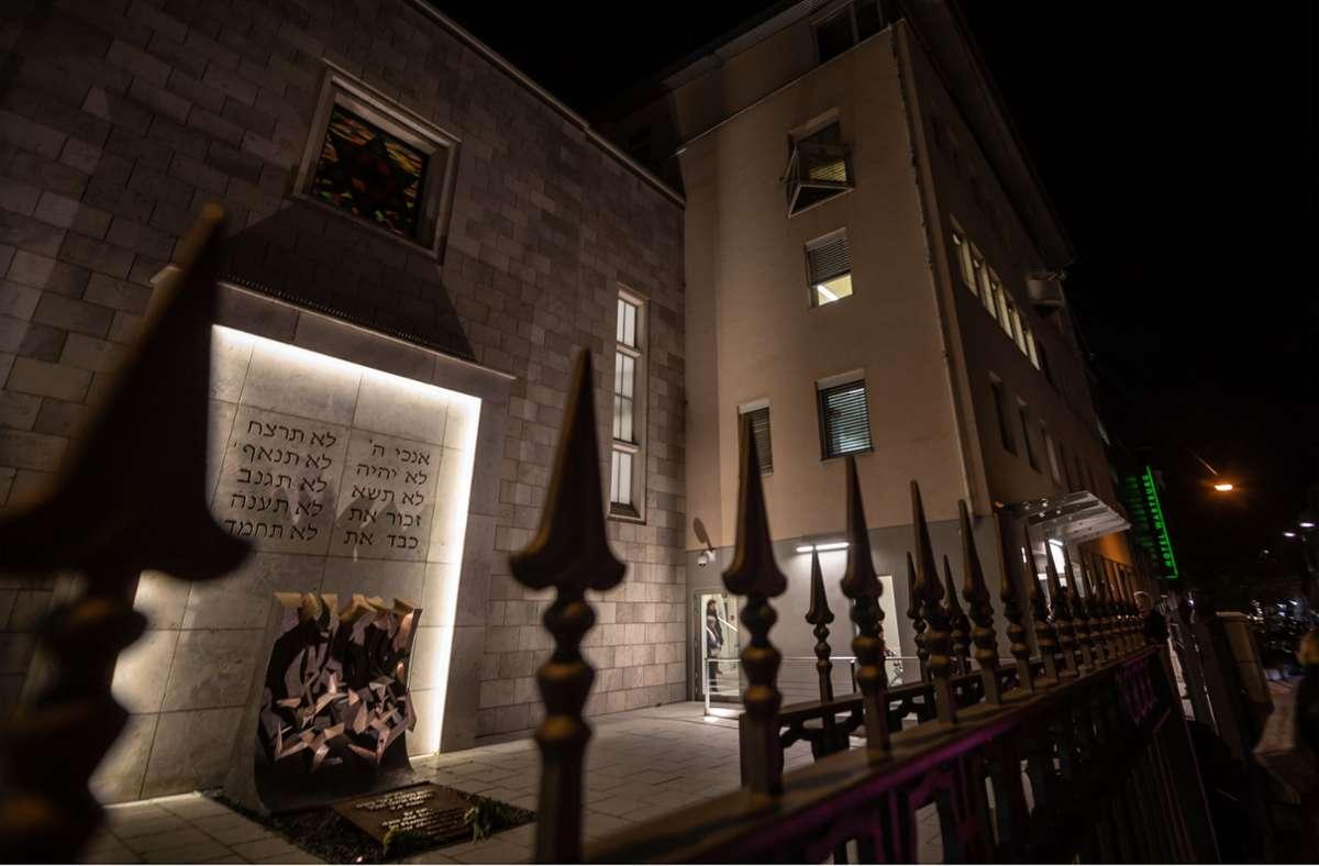 Der diesjährige Neujahrsempfang der jüdischen Gemeinde wurde aus der Synagoge im Hospitalviertel übertragen. Foto: Lichtgut/Julian Rettig