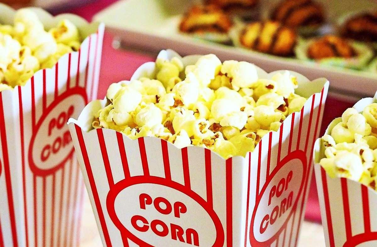 Popcorn gehört zu einem Kinoabend dazu. Auch unter freiem Himmel. Foto: pixabay