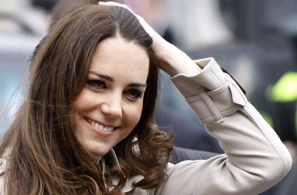 Wer ist die künftige Prinzessin Catherine?  Foto: AP