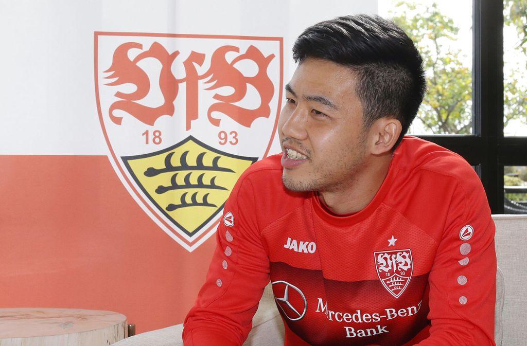 Wataru Endo hat beim VfB Stuttgart zuletzt überzeugt. Foto: Pressefoto Baumann/Hansjürgen Britsch