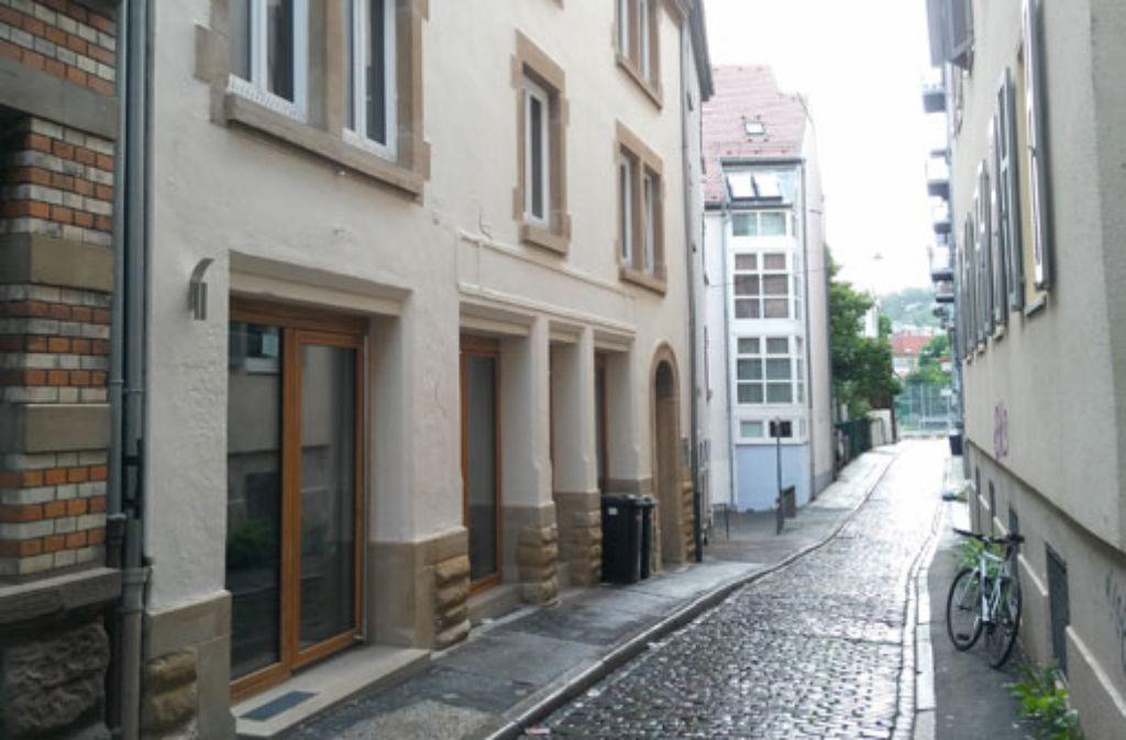 Die zukünftige Bar Korridor im modernisierten Gebäude Weberstraße 11d.  Foto: Martin Elbert
