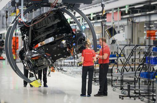Porsche startet Taycan-Produktion