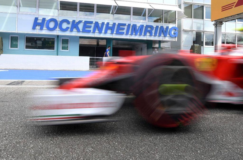 Im kommenden Jahr fahren die Formel-1-Boliden wieder über den Hockenheimring. Foto: dpa POOL