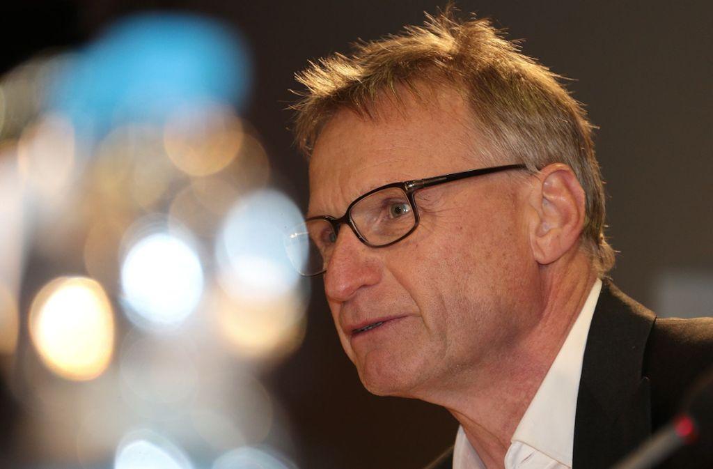 Michael Reschke, Sportchef des VfB Stuttgart, hat am Ende der Transferperiode nicht mehr zugeschlagen. Foto: Pressefoto Baumann