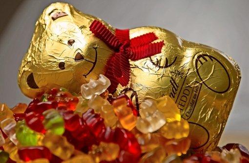 Wieviel Goldbär steckt im Schokoteddy?