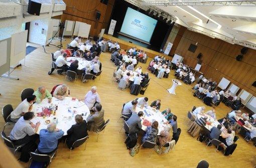 Beim Filderdialog hatten sich die meisten Teilnehmer für die Gäubahnvariante ausgesprochen. Foto: dpa